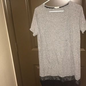 Dresses & Skirts - Grey T-Shirt Dress
